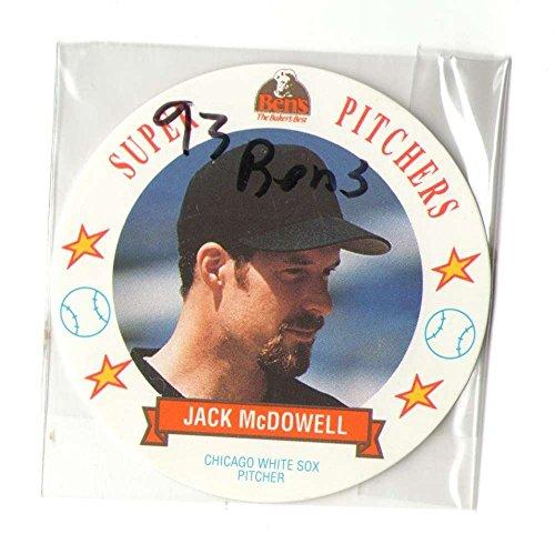 (1993 MSA Bens Super Pitchers Discs - CHICAGO WHITE SOX Team Set)