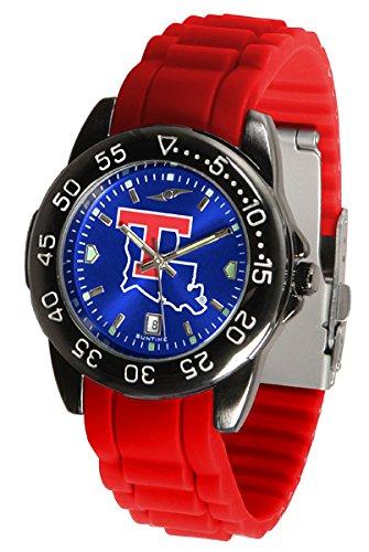 Bulldogs Watch Louisiana Tech Sport (Louisiana Tech Bulldogs Fantom Sport Silicone Men's Watch)