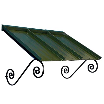 Americana Building Products Orleans Awning, 36 by 54-Inch, Green
