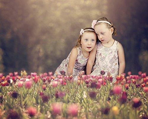 Home Comforts LAMINATED POSTER Kids Twins Girls Tuli Childre