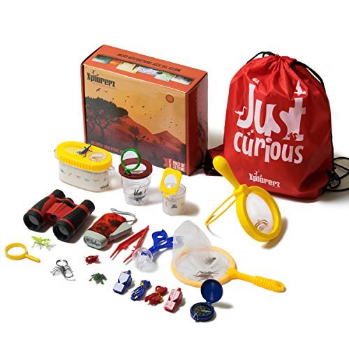 Xplorerz Outdoor Adventure Set For Kids (23-Pack). Outdoor Exploration Toys
