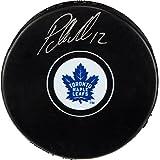 Patrick Marleau Toronto Maple Leafs Autographed Hockey Puck - Fanatics Authentic Certified - Autographed NHL Pucks