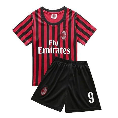 LLforever - Traje de fútbol para niños, Higuain AC#9 Milan ...