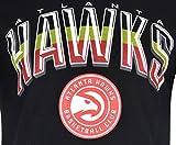 Ultra Game NBA Atlanta Hawks Mens Arched Plexi
