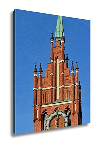 Ashley Canvas Church Of The Holy Family Kaliningrad Before 1946 Konigsberg Russia, Wall Art Home Decor, Ready to Hang, Color, 20x16, AG5561020 by Ashley Canvas
