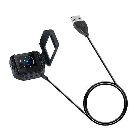 Dock cargador cable cable carga 100 cm Audio para Fitbit ...
