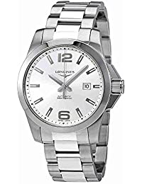Conquest 43MM Automatic Stainless Steel Silver Dial Mens L3.778.4.76.6 · Longines
