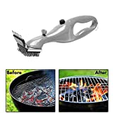 VHLL Stainless Steel BBQ Cleaning Brush Churrasco Outdoor Grill Cleaner with Steam Power BBQ Accessories Cooking Tools Hot Hot New New