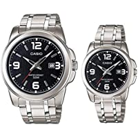 Casio His and Her pair watch MTP/LTP-1314D-1AV