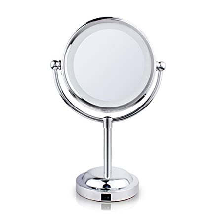 YN Monedie Makeup Mirrors 3X LED Magnifying Mirror Bathroom Double Side  Battery Operated
