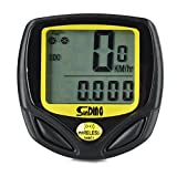 Wireless Bicycle Computer- Bicycle Speedometer with Multi Function Backlight,LED Clock-Bike Odometer for Cycling,Bikking -No Tool Required,Easy Install