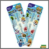 2 pk of Pororo Training Chopsticks for 2nd Step Right Handed Children