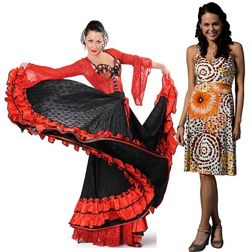 5 ft. Fiesta Flamenco Dancer Standee Standup Photo Booth Prop Background Backdrop Party Decoration Decor Scene Setter Cardboard Cutout