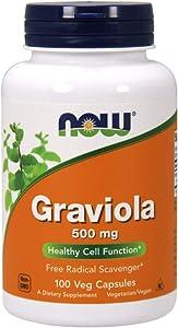 NOW Graviola,100 Veg Capsules