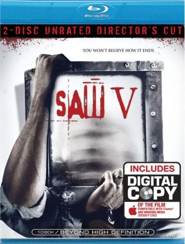 Saw V - 2 Disc Director's Cut [Blu-ray] by Lions Gate