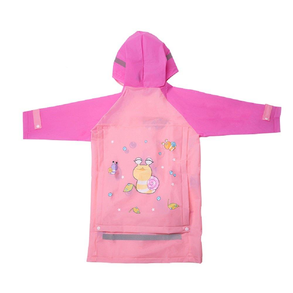 LEMONKID Kid Raincoats Boys & Girls Raincoats Kid Snow & Rainwear 3 to 15 Years Old LE1116