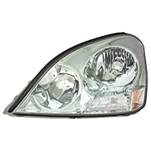 OE Replacement Lexus LS430 Driver Side Headlight Lens/Housing (Partslink Number LX2518105)