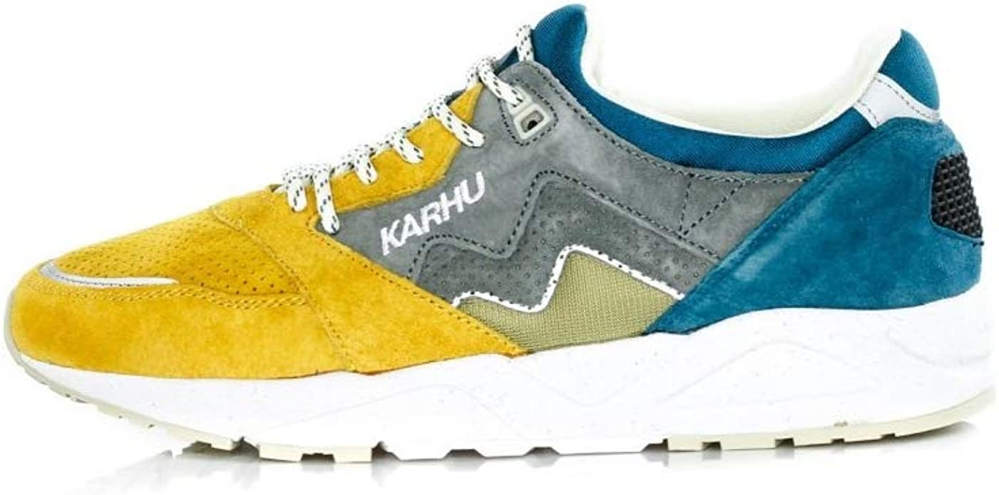Karhu - Zapatillas para Hombre Amarillo Giallo BLU Amarillo Size: 43.5 EU: Amazon.es: Zapatos y complementos