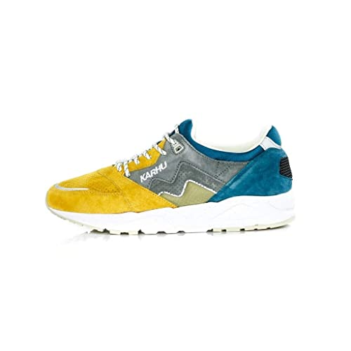 KARHU Zapatillas Para Hombre Amarillo Giallo Blu Amarillo Size: 43.5 EU: Amazon.es: Zapatos y complementos