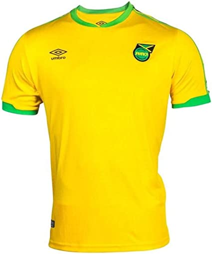 Umbro 2018-2019 Jamaica Home Football Soccer T-Shirt Jersey