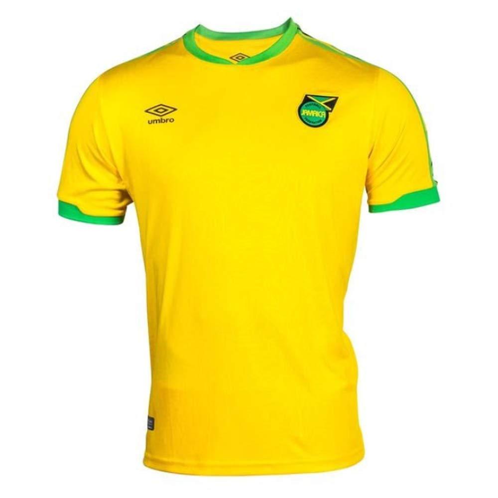 buy popular 5c8bb 6a9d2 Amazon.com: Umbro 2018-2019 Jamaica Home Football Soccer T ...