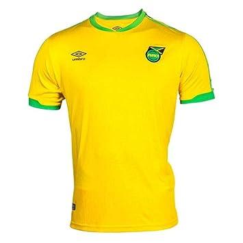 Amazon.com: Umbro 2018-2019 Jamaica Home Football Soccer T ...