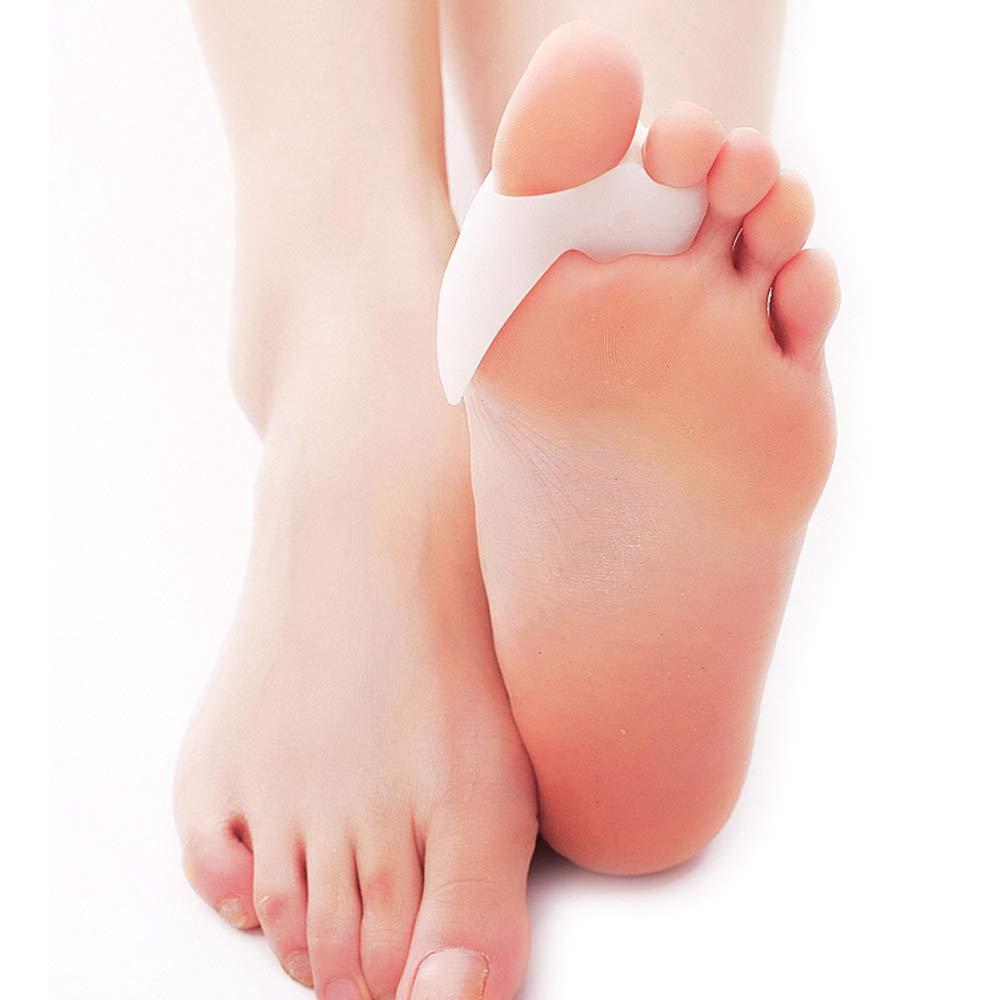 Toe Splints Straightener Broken Toe Wraps Cushioned Bandages Hammer Toe Separator Splints for Broken Injured Finger Hammer Toe by XSM (Image #5)