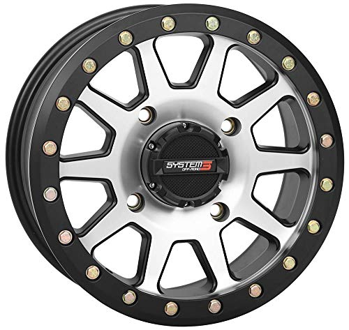 Dragonfire Racing 19-0070 SB-3 Beadlock Wheel - 14x7-5+2(+30mm) - 4/156 - - Sb Racing