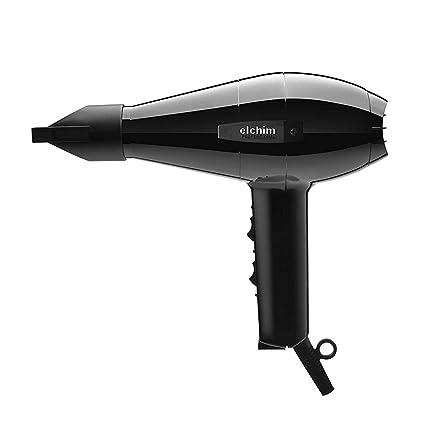 Elchim 2001 - Secador de pelo, 2000 W, color negro
