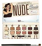theBalm NUDE 'dude Eyeshadow Palette w/Twinbeauty Brush