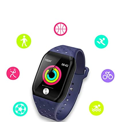 Amazon.com : FTOPS Fitness Tracker, Heart Rate Monitor Watch Pedometer with Step Counter Sleep Monitor Multiple Sports Tracking Color Screen IP67 Waterproof ...