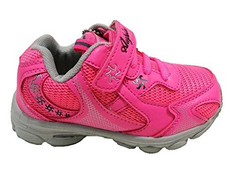 AUSTRALIAN - Zapatillas de gimnasia de Lona para niña Rosa