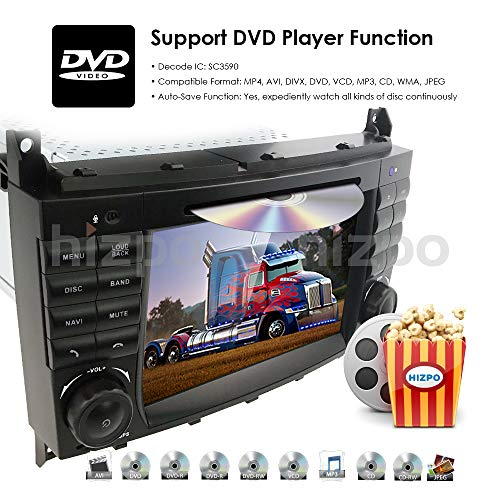 SHOPUS | 7 inch Dash Android 9 0 Car Stereo DVD Player 2 Din Head