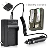 Kastar Battery (1-Pack) and Charger for Canon BP-511, BP-511A, BP511, BP511A and EOS 5D, 10D, 20D, 30D, 40D, 50D, Digital Rebel 1D, D60, 300D, D30, Kiss Powershot G5, Pro 1, G2, G3, G6, G1, Pro90 etc.