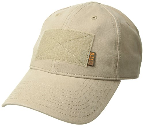 5.11 Tactical Hat, Flag Bearer Cap, One Size, Easy Customization, Style 89406