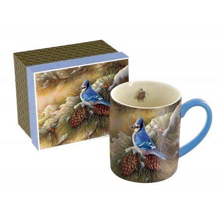 Evergreen Dinnerware Collection - LANG - 14 oz. Ceramic Coffee Mug -