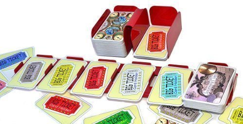 Big Ticket - Emerald Design The Big Ticket Card Holder Set (Compatible with LARGE format Ticket to Ride cards)