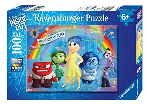 Out Jigsaw Puzzle 100 Pc (Ravensburger Disney Inside Out Mixed Emotions Puzzle (100 Piece))