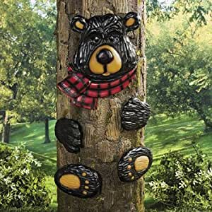 Amazon.com : Black Bear Tree Hugger - Party Decorations ... on Backyard Decorations Amazon id=55161