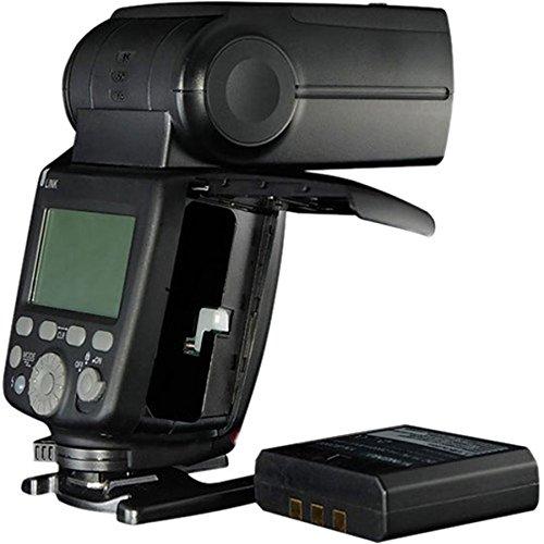YONGNUO YN686EX-RT TTL Lithium Speedlite 2.4G Wireless 1/8000s HSS GN60 5600K Master Slave Flash Speedlite with 2000mAh Lithium Battery for Canon Camera