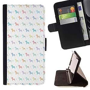 Momo Phone Case / Flip Funda de Cuero Case Cover - Motif blanc enfants - LG G4c Curve H522Y (G4 MINI), NOT FOR LG G4