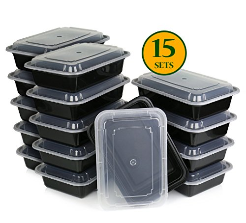 COMFY PACKAGE 15 SETS Meal Containers