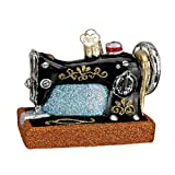 Old World Christmas Hobbies Gifts Glass Blown Ornaments for Christmas Tree Sewing Machine