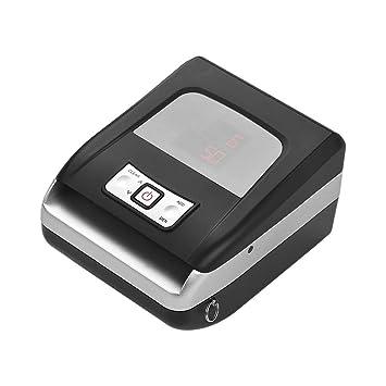 Aibecy Máquina de contador de dinero portátil con detector magnético de billetes falsos con tecnología magnética infrarroja Batería recargable Pantalla LED ...