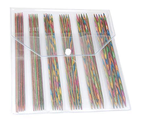 Knit Pro Symfonie Wood Double Point Sock Knitting Needle Set - 20.00cm (Set of 6) Knitting Needles