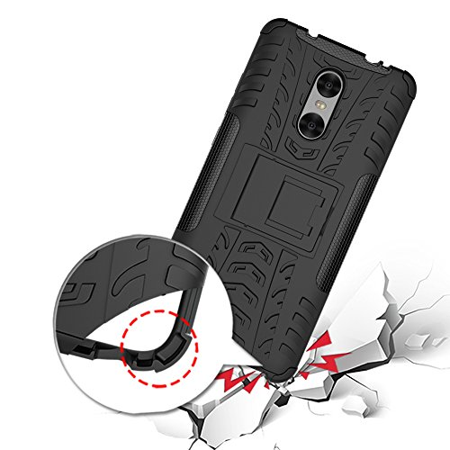 Xiaomi Redmi Pro Funda, adorehouse Hybrid TPU y PC Bumper Back Cover [diseño 2 en 1] Anti-Gota Anti-Choques Rígido Carcasas para Xiaomi Redmi Pro (Naranja) Rosa Caliente