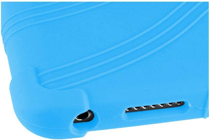Tragbar Sto/ßfest Stehen Gummi Silikon Sch/ützend H/ülle Cover f/ür Huawei Honor Waterplay 8HDL-W09 Tablet Deylaying HDL-W09 H/ülle