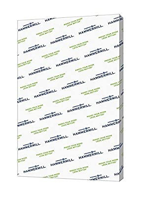 Hammermill Paper, Color Copy Digital Cover, 100lb, 8.5 x 11, Letter, 100 Bright, 250 Sheets / 1 Pack (120024R), Made In The USA