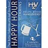 Happy Hour Vitamins Formulated for Hangovers & Liver Support - 20 Packs - Multivitamin with Milk Thistle, N-Acetyl Cysteine & Prickly Pear Cactus