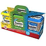 Temptations Cat Treats Club Value Pack 3 lbs. (3 flavors - 1 lb. canisters)